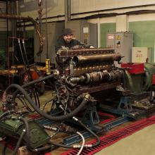 Цех по ремонту двигателей