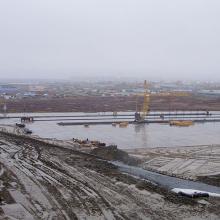 Строительство ЖД тупика на базе СТЭ
